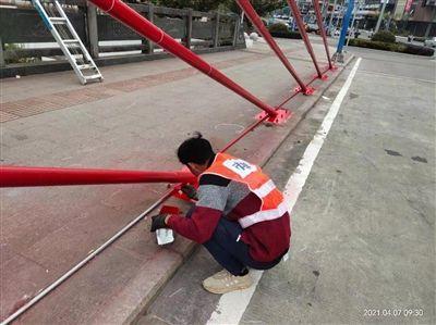福顺桥金属造型及白渚桥混凝土桥拱部分翻新